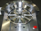Automotive wheel forging molds