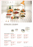 -STENLOCK- Stainless steel food container