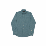 GREEN WASHED SHIRT BS-558