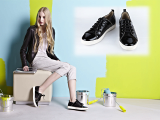 GIO-SAMANHTA New Spangle Sneakers