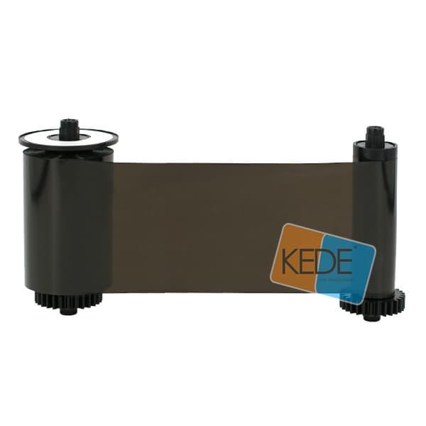 Compatible Ribbon IDP Smart 650653 Black Monochrome Ribbon 1200 prints//roll