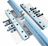fish plate/ Joint bar, base plate/ tie plate, rail clamp plate/ rail anchor plate