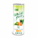 250ml Can Original Wheatgrass juice drink with Honey flavor