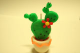 Cactus CandleClay CC-O102