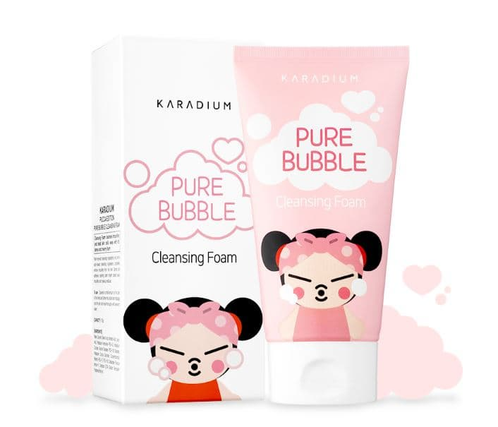 PUCCA PURE BUBBLE CLEANSING FOAM