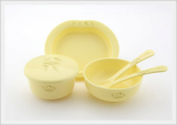 Eco-friendly Biodegradable Baby Dishes Set (6pcs)