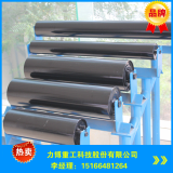 rubber coated conveyor rollers with professional Dia 133mm