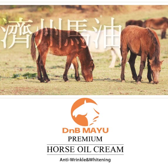 DnB Horse Oil Cream_ jeju Mayu Cream