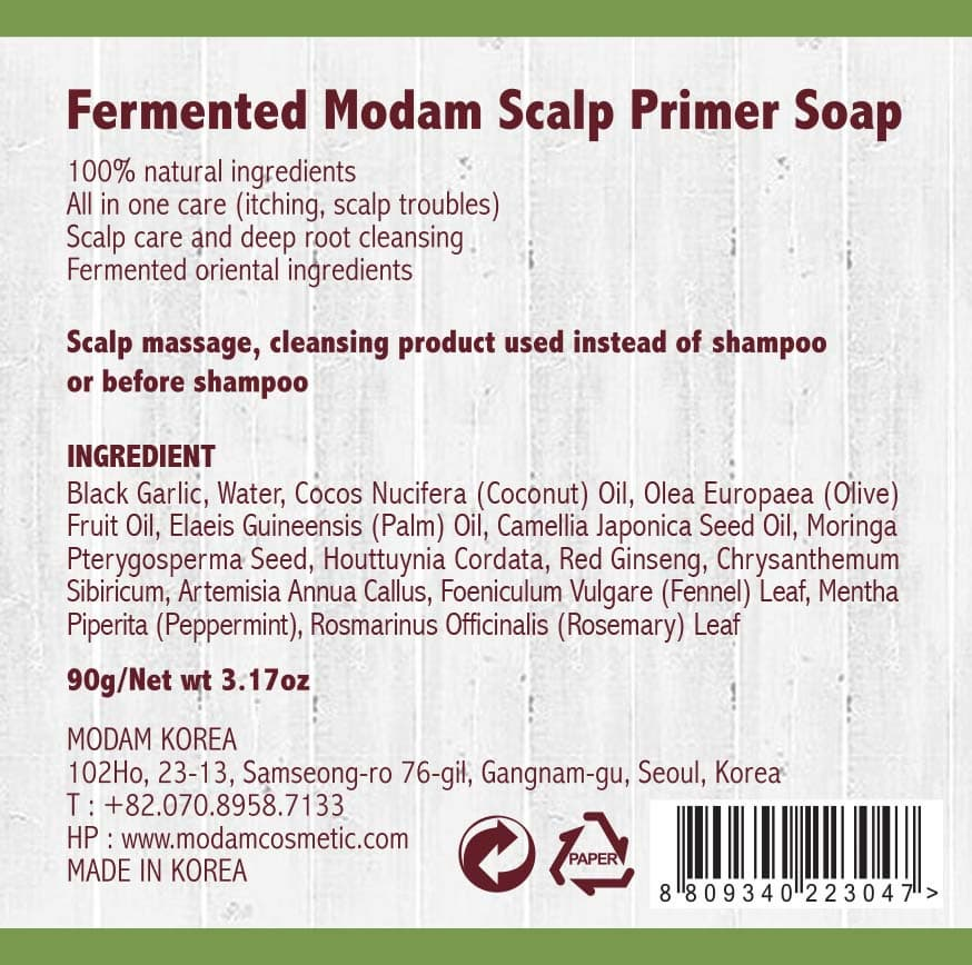 Natural Fermented Scalp Primer