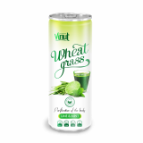 250ml Can Original Wheatgrass juice drink with Lime