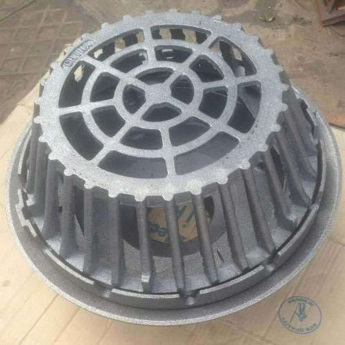 Large Sump Cast Iron Roof Drain with 4 Inch No Hub Outlet