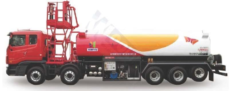Tank Lorry Truck_ Aircraft Refueler_ Fuel Tank Truck