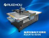 RZCRT5_1510E CNC Soft material cutting machine