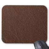 Genuine Leather Mouse Mat Custom Mouse Pad