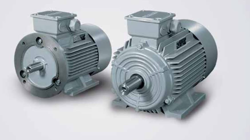 2 Siemens Ac Motor 1fw4403 1ha47890 1aa0 From A S Electric