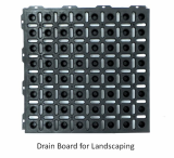 Drain Board for Landscaping