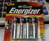 Blister card Energizer LR03 AAA Battery