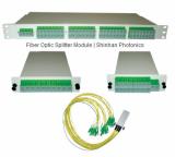 Fiber Optic Splitter Module Portfolio / FTTx / PLC / FBT