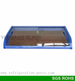 Double Curved Glass Door_ freezer glass door