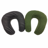 Stripe Memory Foam Neck Pillow