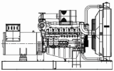 Diesel Generator Set ( Model : DJG-750 )