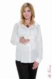 My Tummy - Maternity blouse Ana white