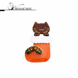 Christmas -x-mas- Merry Cat point hairpin