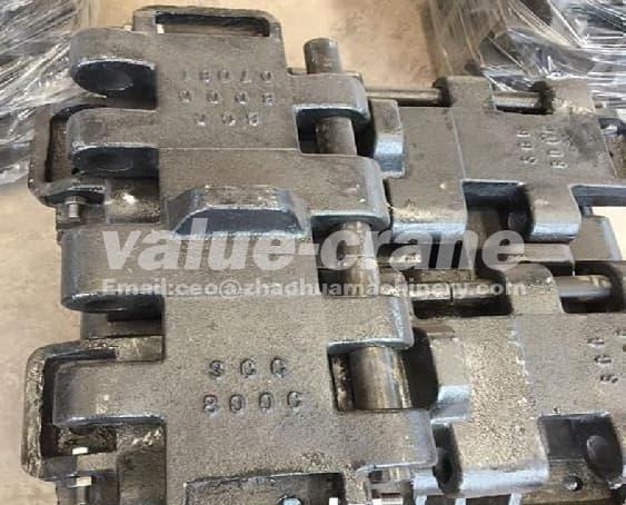 Track shoe for kobelco BM500, BM600, BM650 | tradekorea