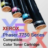 Compatible Color Toner Cartridge for Xerox Phaser 7750, Korea