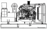 Diesel Generator Set ( Model : DJG-300 )