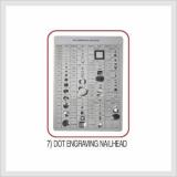 Dot Engraving Nailhead (Hs Code : 7616.99.9090)