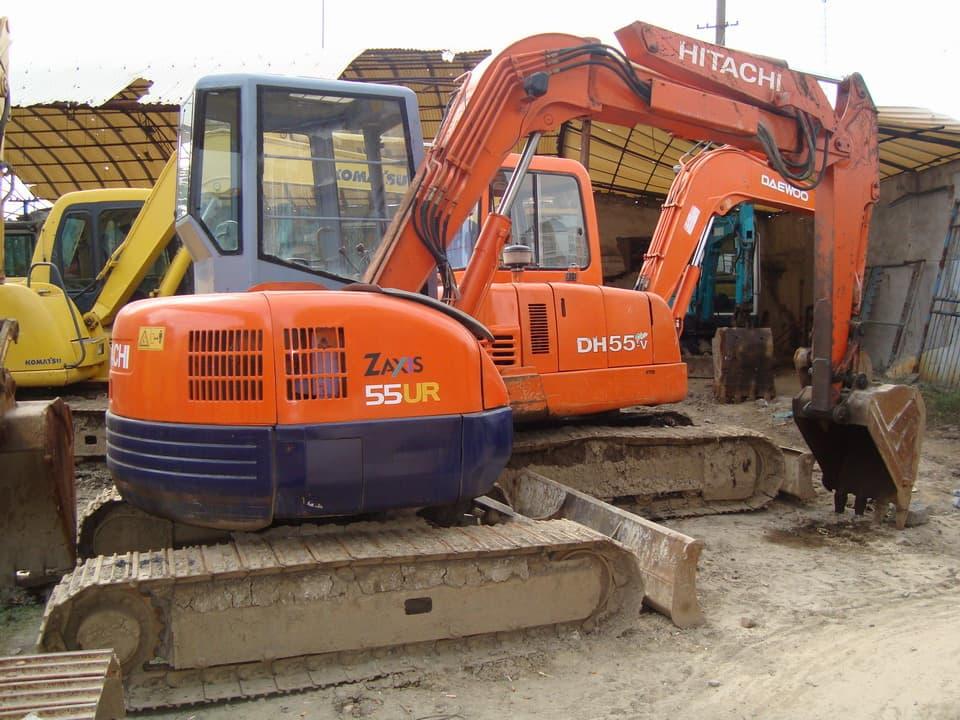 used hitachi excavator ex55 | tradekorea