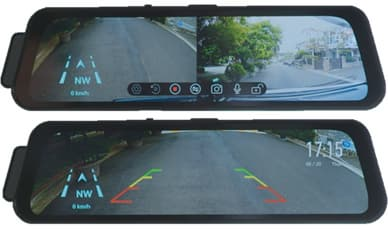 Back up Mirror monitor with Dash cam