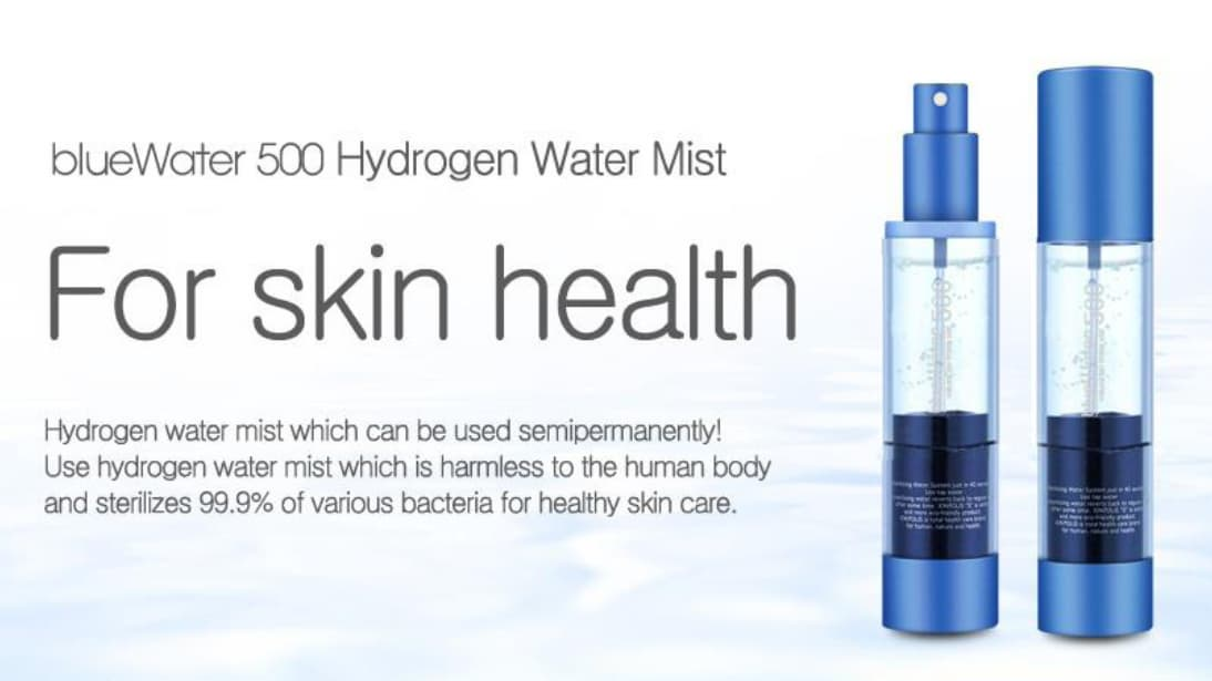 Portable Hydrogen Water Sterilizing Mist Spray Generator for Skin Care