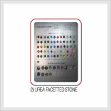 Urea Facetted Stone (HS CODE : 7018.10.9000)