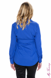My Tummy - Maternity blouse Ana blue