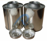 500ML_32 OZ_ Empty Tin Can for pvc solvent cement