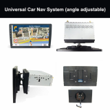 1 Din Car Multimedia Receiver Suppliers Chinangle adjustable