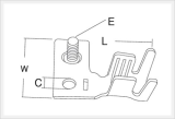 Battery Attachment Terminals (CBK10-012/14-012/15-012)