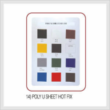 Poly U Sheet Hot Fix (Hs Code : 8308.90.9000)