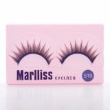 shimmer eyelash   style#519-524