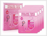 SKINFACTORY VEGA MIX HYDROGEL MASK 4EA - 1box