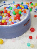 A Ball Pool Sofa-blue or green-