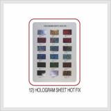 Hologram Sheet Hot Fix (Hs Code : 8308.90.9000)