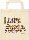 Ecobag popup love korea design