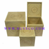 High Quality Bamboo Storage Box Set