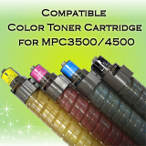 Ricoh MPC3500 Compatible Color Toner Cartridge, Korea