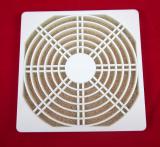 Dust guard 12cm 125x125x10mm radiator fan black filter net