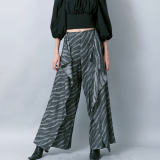 flared wrap pants