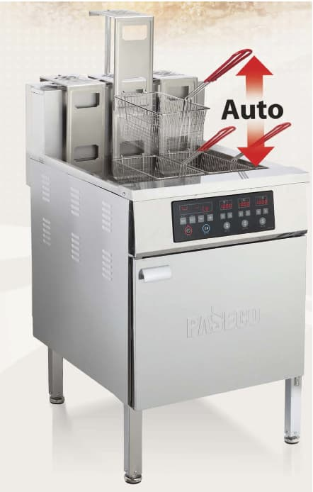 used commercial counter top fryer